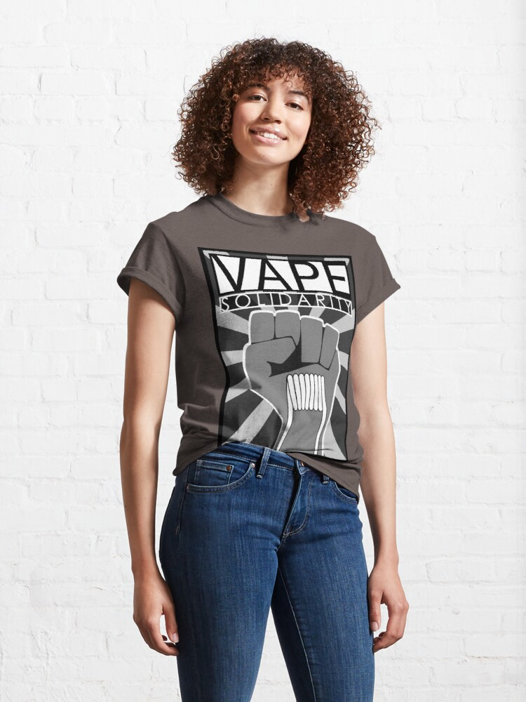 Alternate view of Vape (Solidarity) Classic T-Shirt