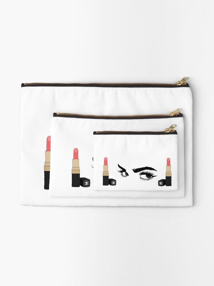 Alternative Ansicht von Make-Up-Lippenstift und Augen Täschchen