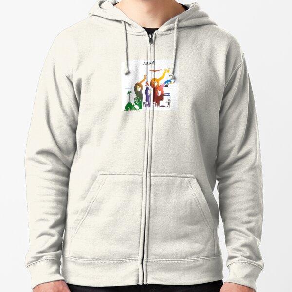 Colorful Zipped Hoodie