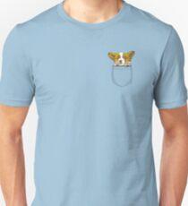 Corgi Puppy Pocket T-Shirt