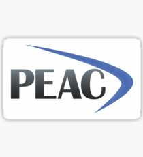 PEAC logo Sticker