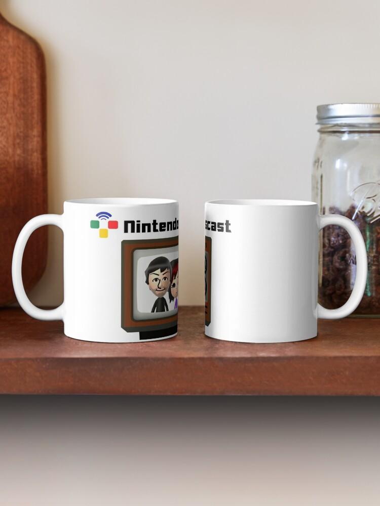 Alternate view of The Nintendo Newscast Mug