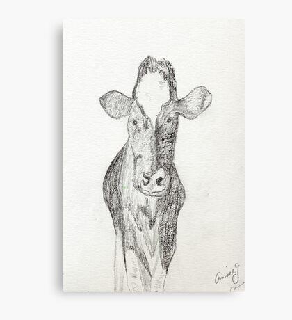 Jen's Gentle COW Canvas Print