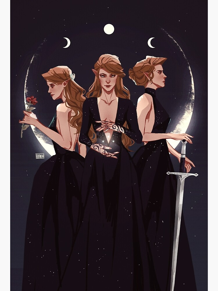 The Maiden, The Mother and the Crone by Elithien