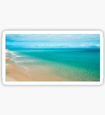 View from Tangalooma Island beach. Sticker