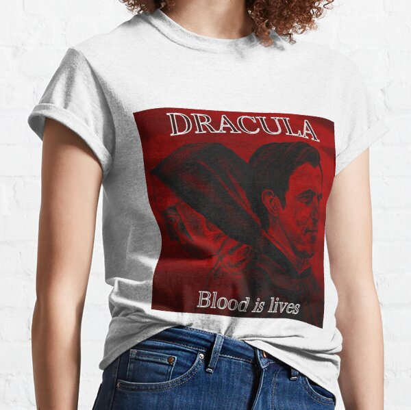 Dracula and Sister Agatha - Blood is lives Classic T-Shirt