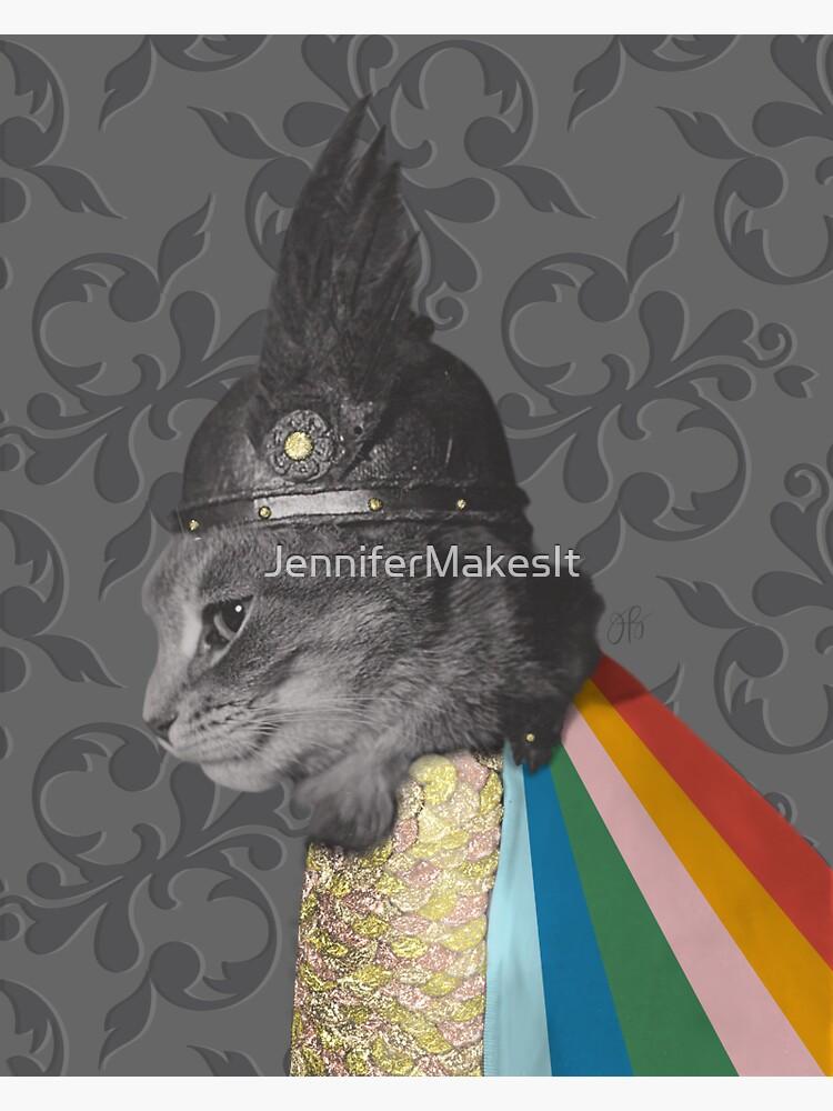 Kitty Brunnhilde by JenniferMakesIt