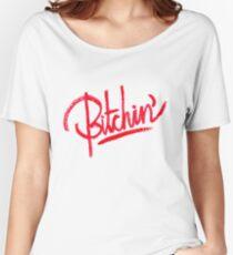 Camiseta ancha para mujer BITCHIN