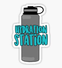 Hydration Station Sticker