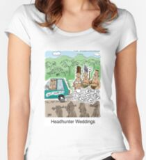 Headhunter Weddings Women's Fitted Scoop T-Shirt