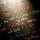 Blackboard Cocktails by sermi