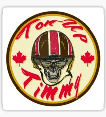 Canadian Cafe Racer Ton-Up Timmy Sticker
