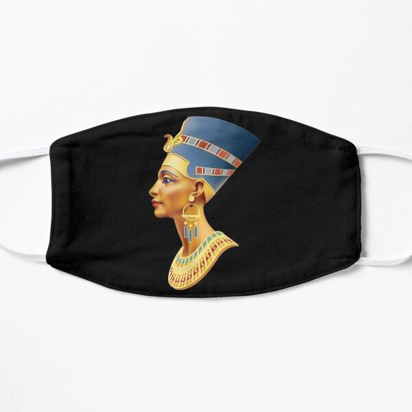 Egyptian Golden Queen Nefertiti Flat Mask
