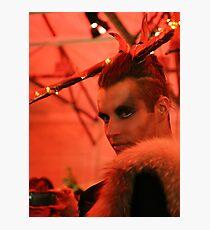 Dark Mofo Winter Feist 2014 Reindeer man 2 Photographic Print