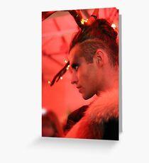 Dark Mofo Winter Feist 2014 Reindeer man 3  Greeting Card