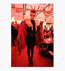 Dark Mofo Winter Feist 2014 Reindeer man  4 Photographic Print