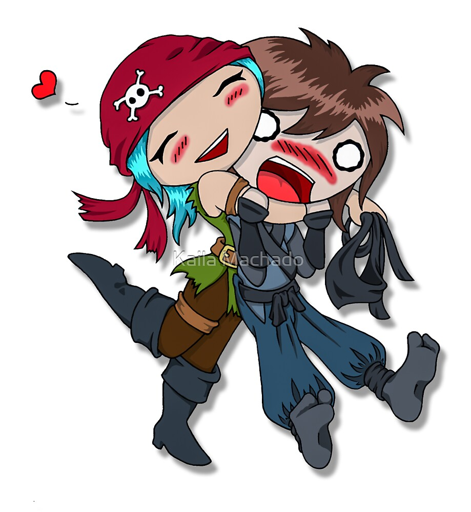 Pirate Love by chaotrolism