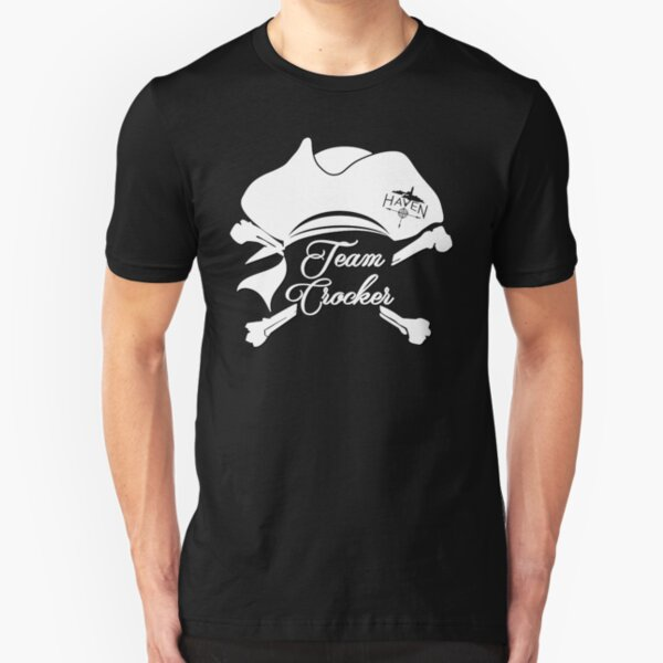 CROCKER BY DAY PIRATE BY NIGHT PERSONALISED T SHIRT FUNNY