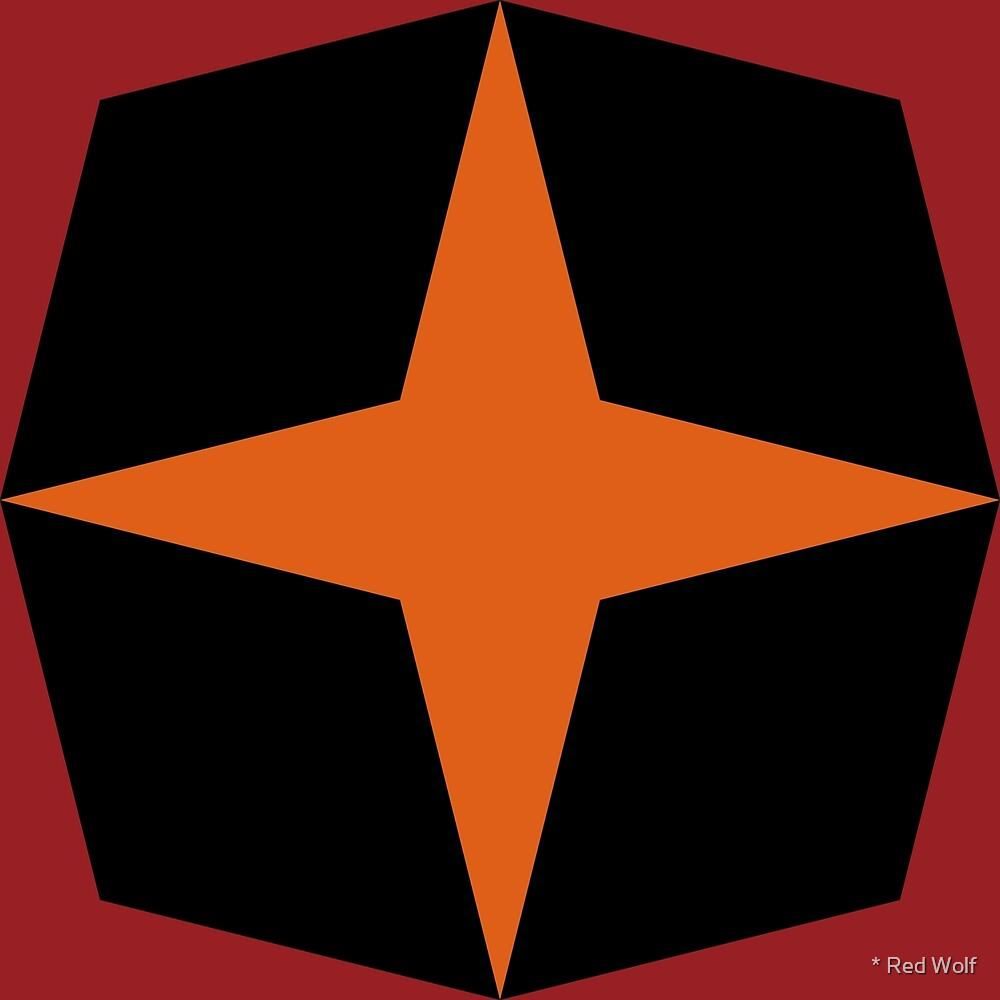 Geometric Pattern: Diamond Star: Passage by * Red Wolf