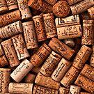Wine corks textures by sermi