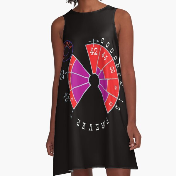ARCADIA GoodBye Is For Ever A-Line Dress