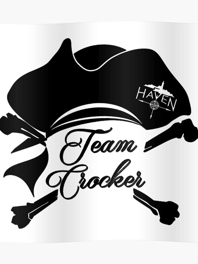 b2a92ab7 Haven Team Crocker Black Pirate Hat Logo