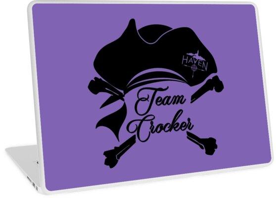 f622c0bf Haven Team Crocker Black Pirate Hat Logo