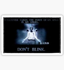 Weeping Angel/ Don't Blink Sticker