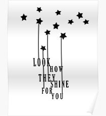 Look How They Shine Poster