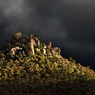 Rocky outcrop.  by DaveBassett
