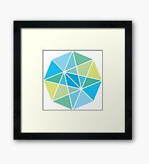 Vectors and light Framed Print