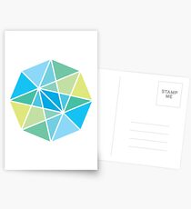 Vectors and light Postcards