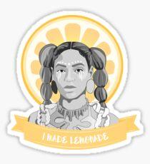 i was served lemons Sticker