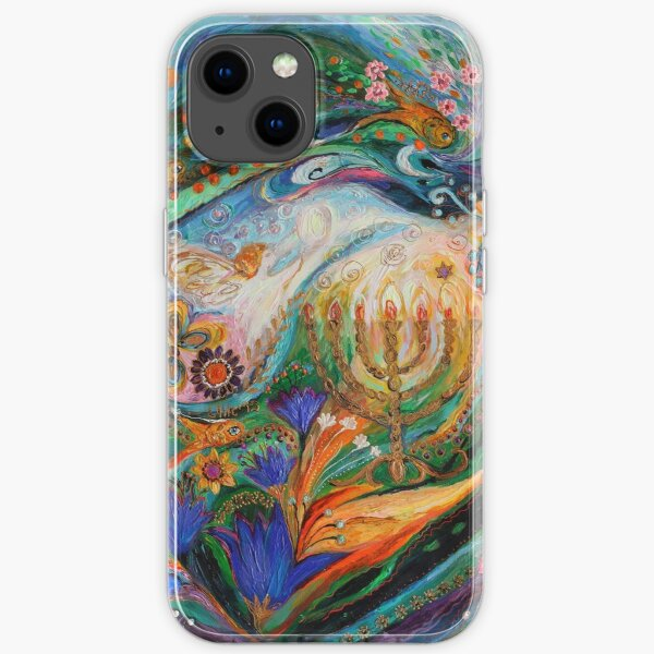 Dreams about Chagall. The Herald of dawn iPhone Soft Case