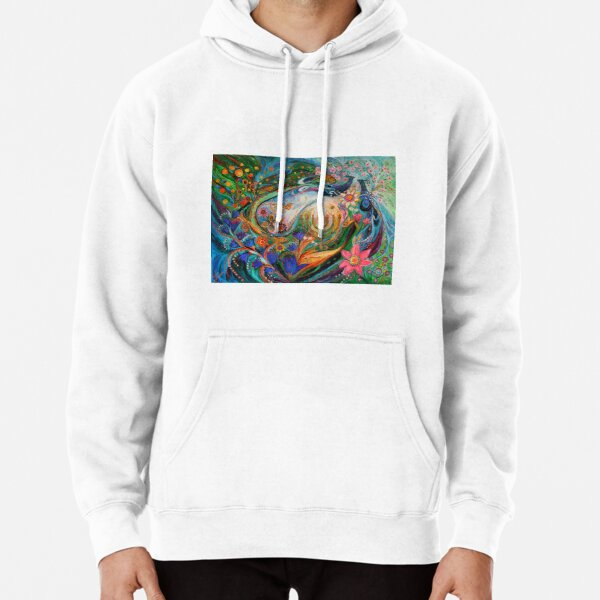 Dreams about Chagall. The Herald of dawn Pullover Hoodie