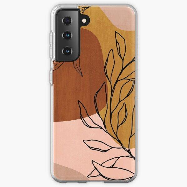 Abstract organic Botanical Samsung Galaxy Soft Case
