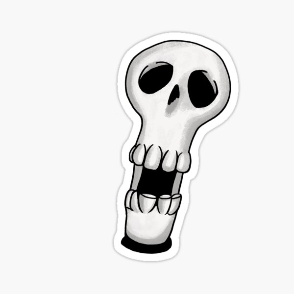 Boni from The Trapdoor Sticker