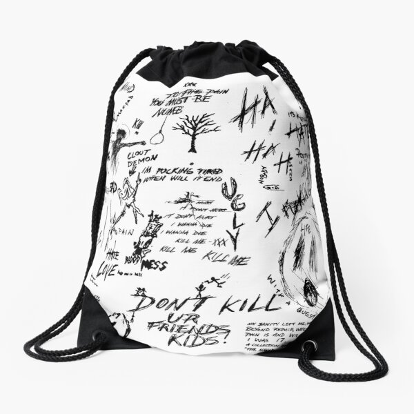 XXXTENTACION Drawstring Bag