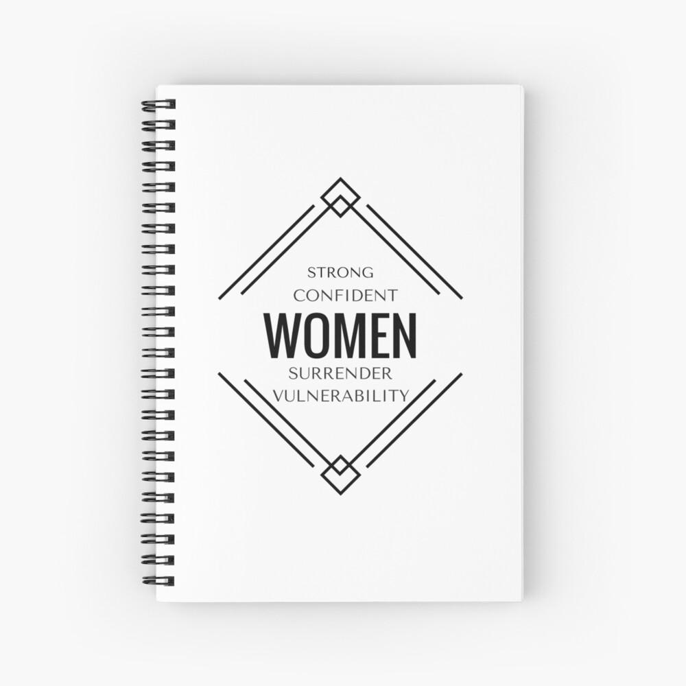 Strong  Spiral Notebook