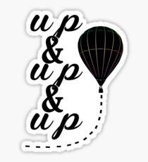 Up & Up Sticker