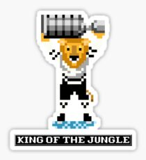 King of the Jungle Sticker