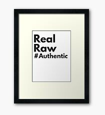 Power Slogan Framed Print