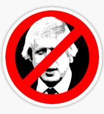 Anti Boris Johnson Sticker