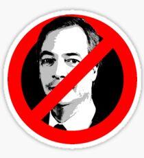 Anti Nigel Farage Sticker