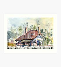 33 Maling Rd  Canterbury Art Print