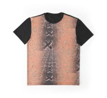 No O's - Negative in Copper Graphic T-Shirt
