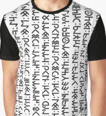 Üze Kök Teñri Asra Yağız Yer Kılınduka Graphic T-Shirt
