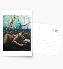 Asleep in the Deep Forest Postcards