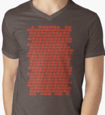 Invaded Men's V-Neck T-Shirt
