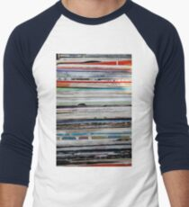 old vinyl records Men's Baseball ¾ T-Shirt